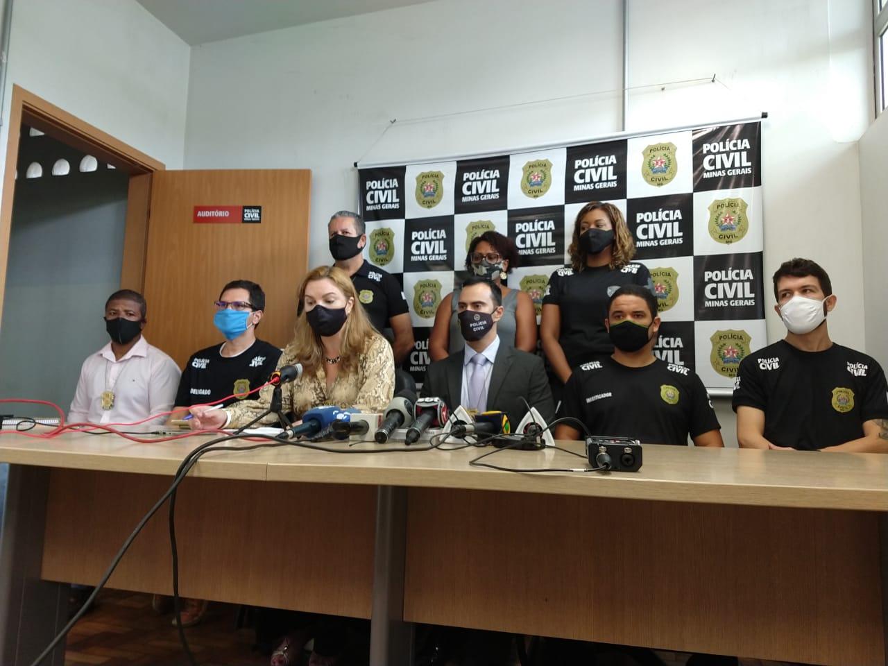 PC prende suspeitos de envolvimento na morte do vereador de Funilândia - Foto: Divulgação/PCMG