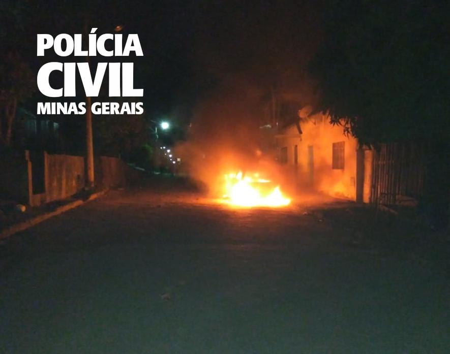 Ex-companheira e filha são suspeitas de atear fogo em homem em Ipanema - Foto: Divulgação/PCMG