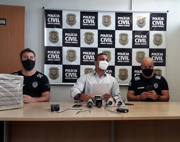 Operação resulta na apreensão de mais de 100 kg de maconha em Ribeirão das Neves - Foto: Divulgação/PCMG