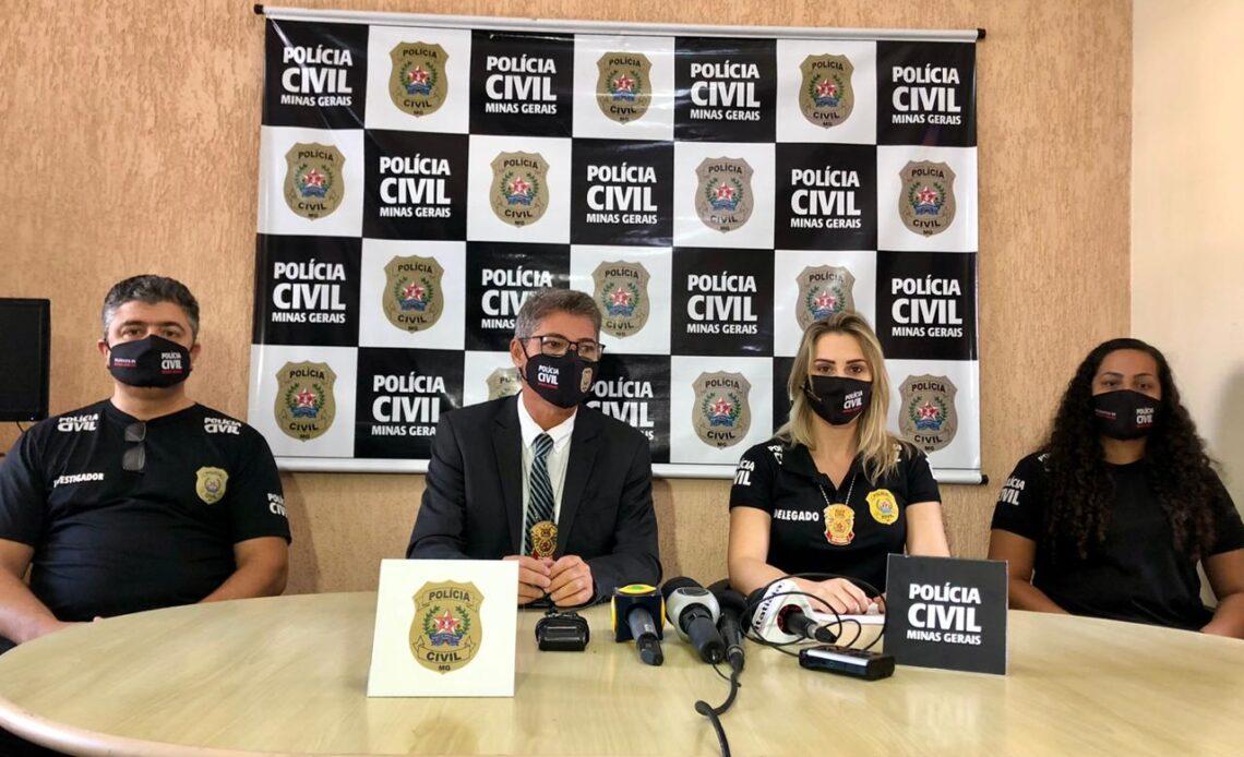 Polícia Civil prende suspeito de abusar de adolescente em Mateus Leme - Foto: Divulgação/Polícia Civil