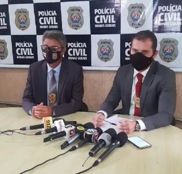 Polícia prende suspeito de dar golpes na venda de propriedade em Sarzedo - Foto: Divulgação/PCMG