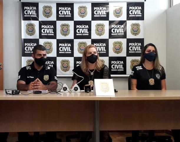 PCMG prende dupla por envolvimento em homicídio de mulher esfaqueada - Foto: Divulgação/PCMG