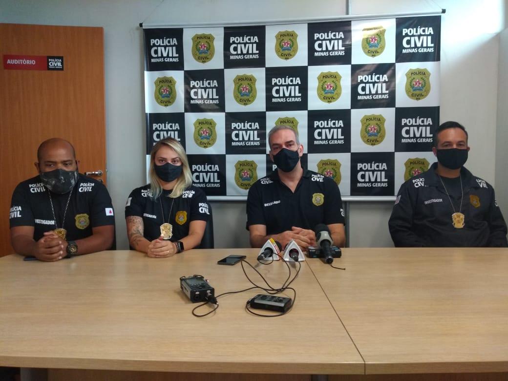 Polícia prende quatro suspeitos de homicídio em ocupação em Belo Horizonte - Foto: Divulgação/PCMG
