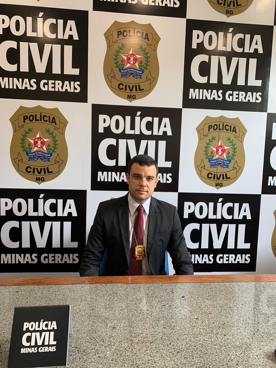 Trio é preso pela polícia por homicídio em Santa Bárbara - Foto: Divulgação/PCMG