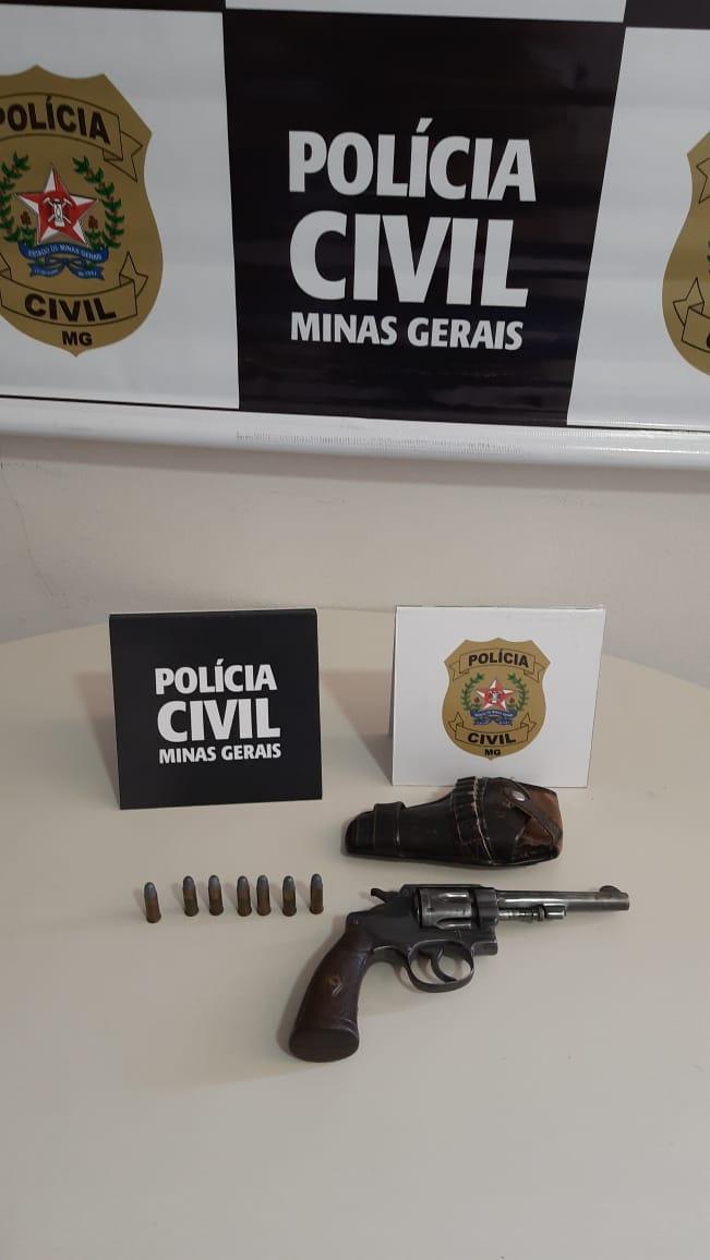 Homem é preso suspeito de roubo a casa lotérica em Formiga - Foto: Divulgação/PCMG