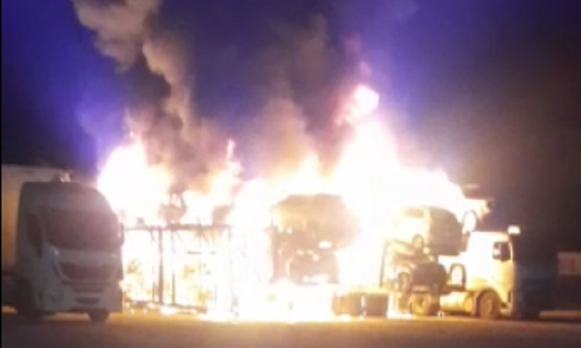 Polícia prende dupla suspeita de incendiar cegonheiras em Curvelo - Foto: Reprodução