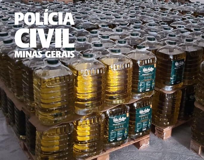 Polícia apreende grande quantidade de produtos receptados em Contagem - Foto: Divulgação/PCMG