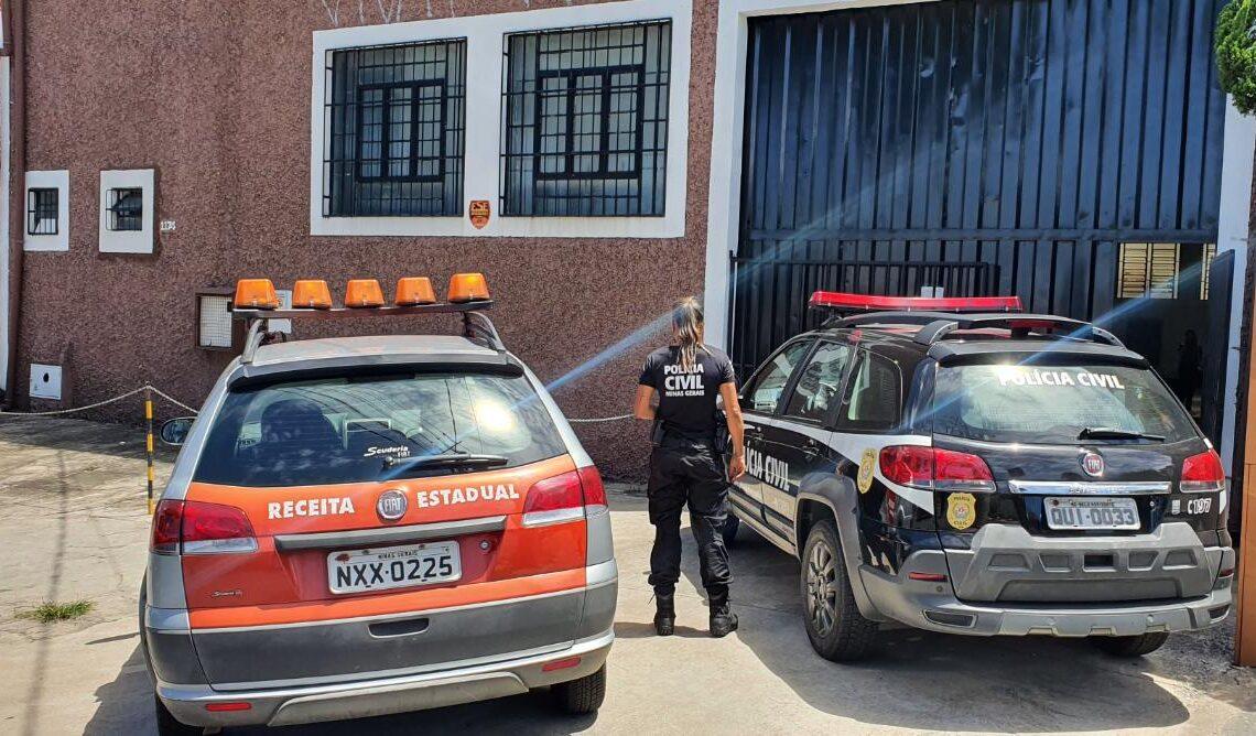 Polícia desarticula esquema de sonegação fiscal em operação conjunta em Minas - Foto: Divulgação/PCMG