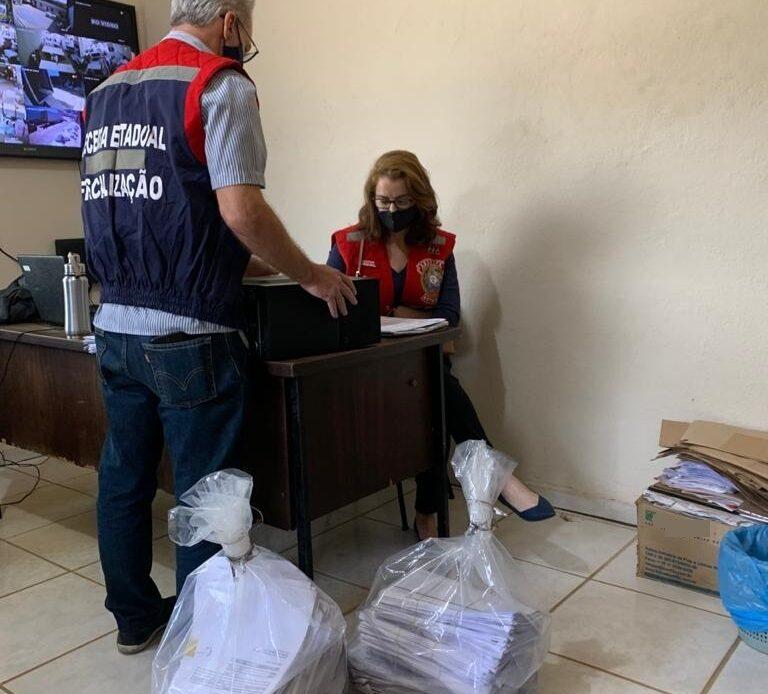 Operação da Receita Estadual combate sonegação fiscal no setor de colchões - Foto: Divulgação/Receita Estadual