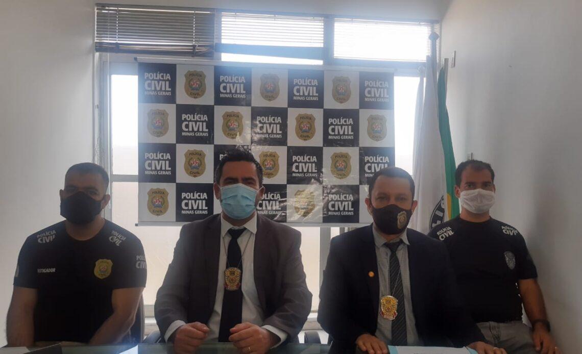 Delegado Otávio Luiz de Carvalho - Foto: Divulgação/PCMG