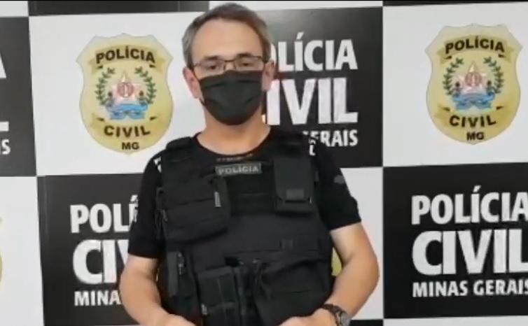 Delegado Marcos Tadeu de Brito Brandão - Foto: Divulgação/PCMG