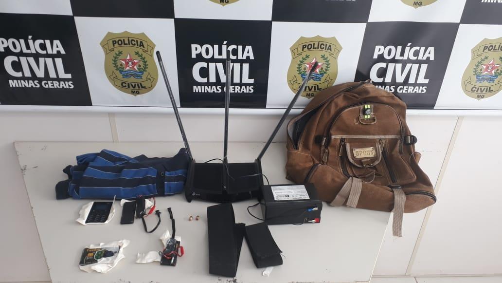 Dupla é presa por fraude em exame de legislação em Coronel Fabriciano - Foto: Divulgação/PCMG