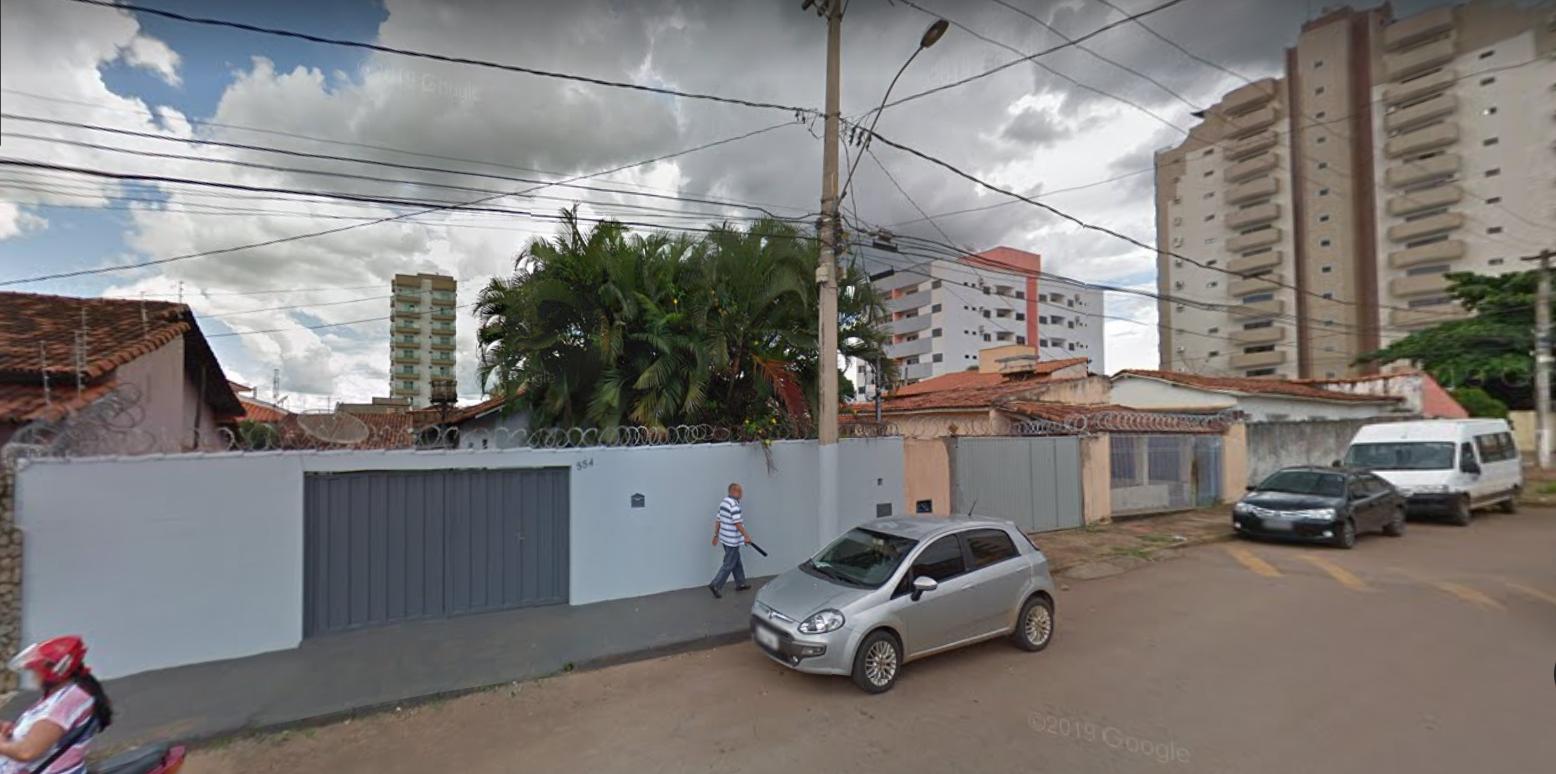 Rua Canabrava onde ocorreu o incêndio - Foto: Reprodução/Google Street View