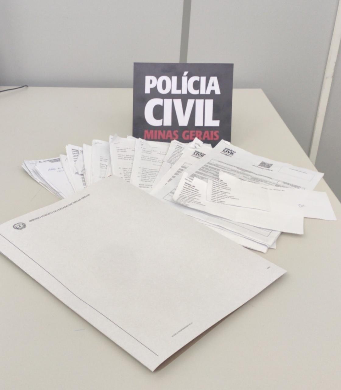 Despachante é investigado por falsidade ideológica e estelionato em Araxá - Foto: Divulgação/PCMG