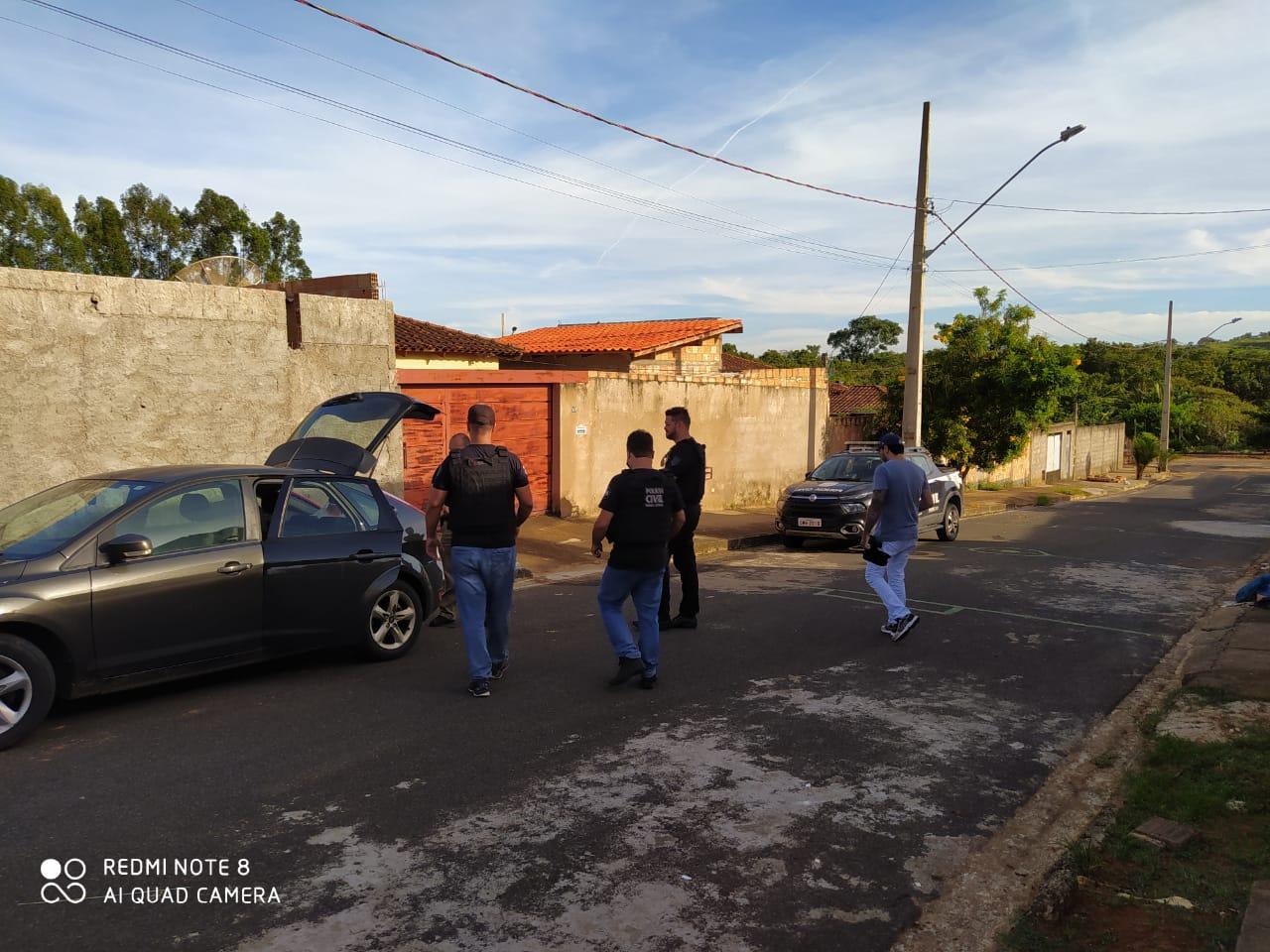 Três pessoas são presas por crimes patrimoniais em Araxá - Foto: Divulgação/PCMG