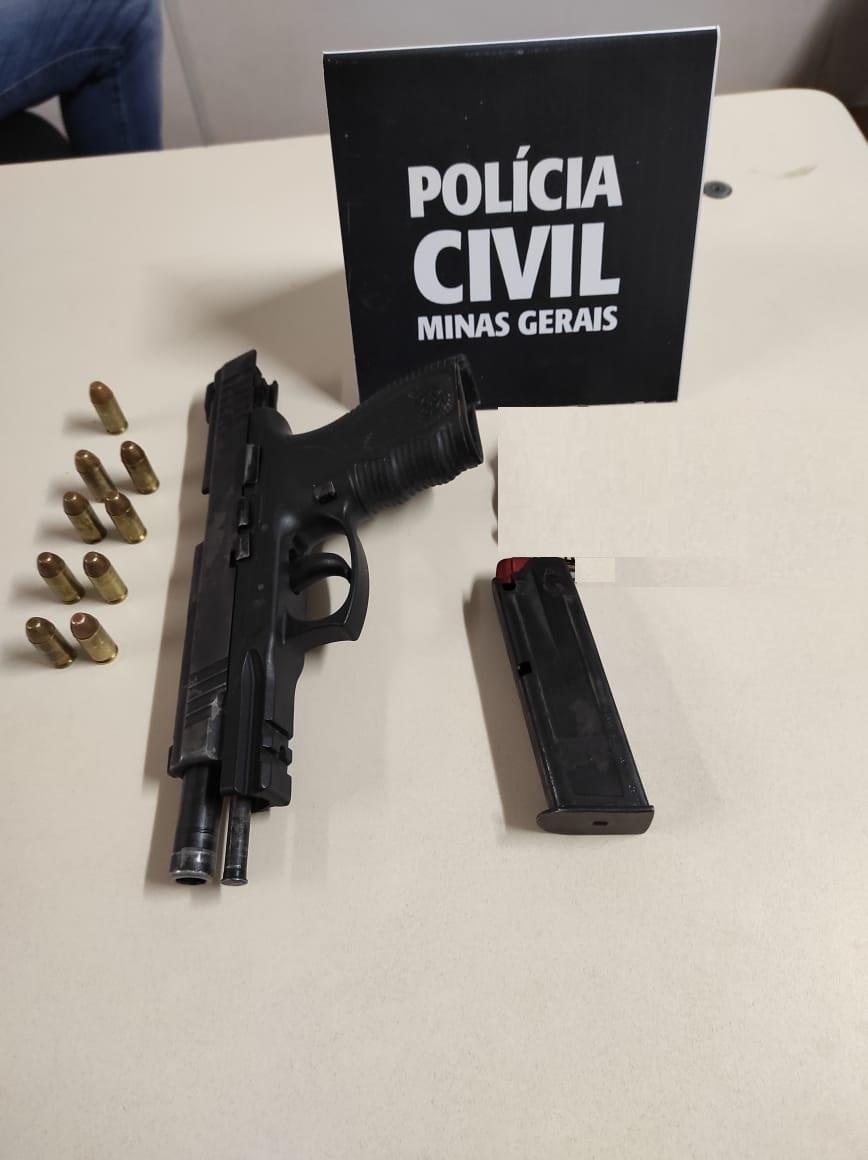 Suspeito de homicídio é preso em Janaúba, no Norte de Minas - Foto: Divulgação/PCMG