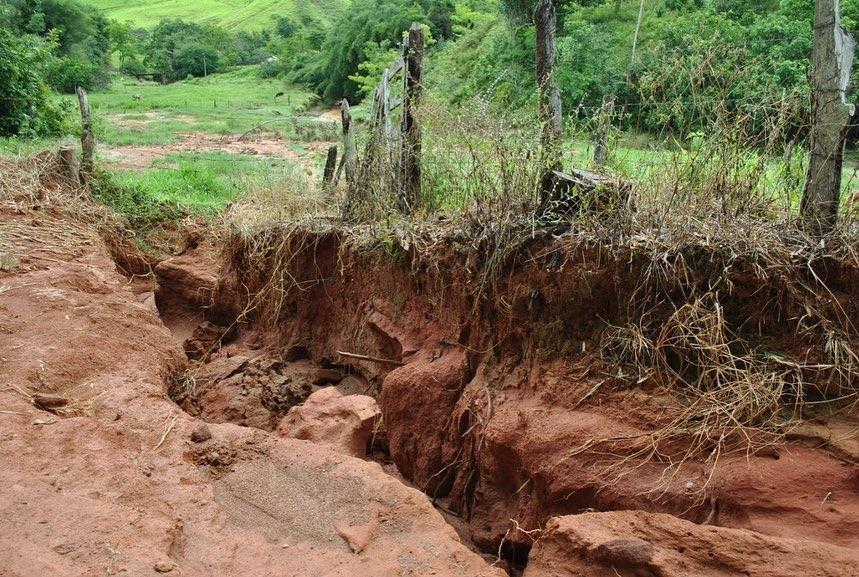 Chuva faz diversos estragos na cidade deste o inicio do ano - Foto: Divulgação/Prefeitura de Muriaé