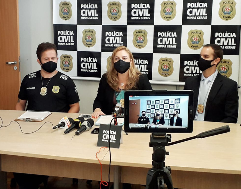 Polícia prende suspeito de matar e ocultar o corpo da companheira em São José da Lapa - Foto: Divulgação/PCMG