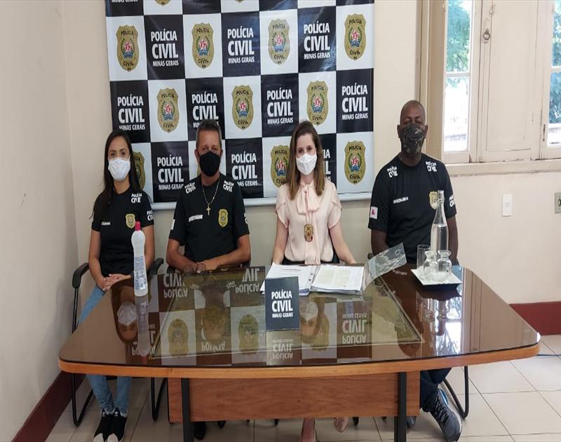 Polícia prende suspeitos de aplicarem golpes em idosos em Belo Horizonte - Foto: Divulgação/PCMG