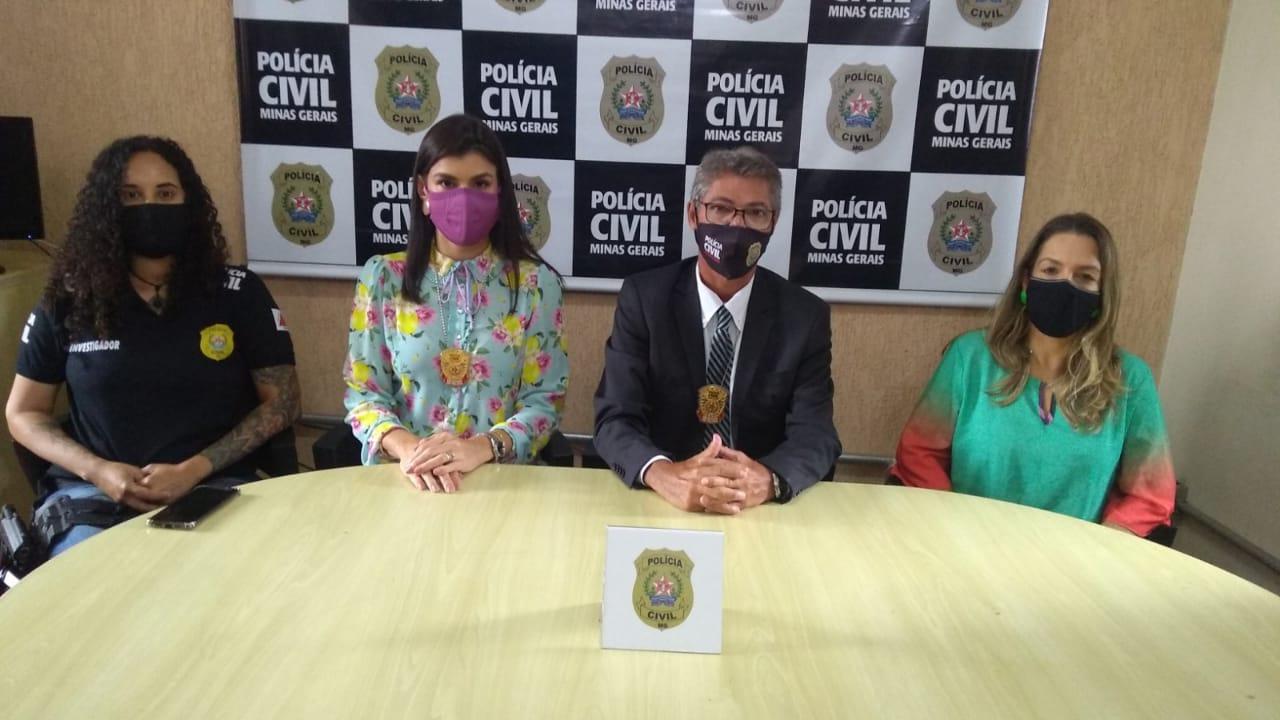 Polícia Civil prende suspeito de estupro de vulnerável em Contagem - Foto: Divulgação/PCMG