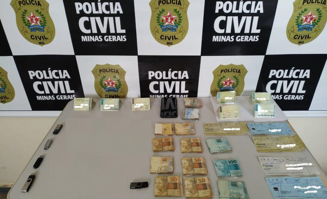 Polícia investiga suspeito de se passar por vice-prefeito de Araxá - Foto: Divulgação/PCMG