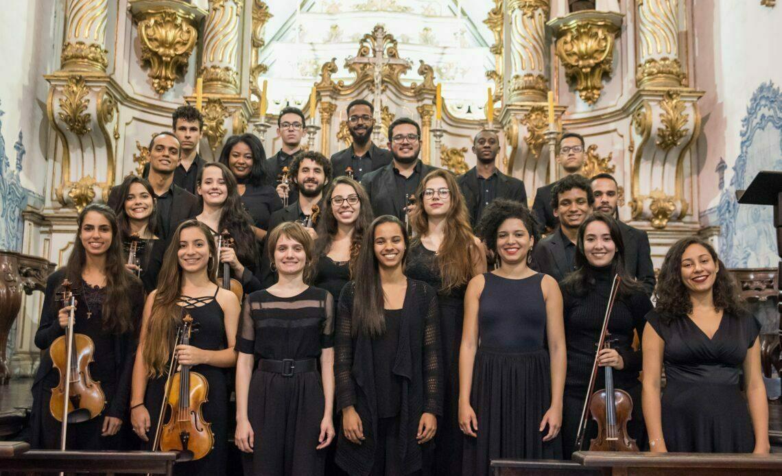 Academia Orquestra Ouro Preto abre vagas para jovens músicas bolsistas - Foto: Divulgação/Corpo de Bombeiros