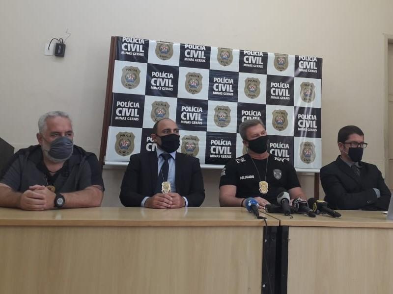 Polícia ´prende suspeito de estupro e extorsão em Belo Horizonte - Foto: Divulgação/PCMG