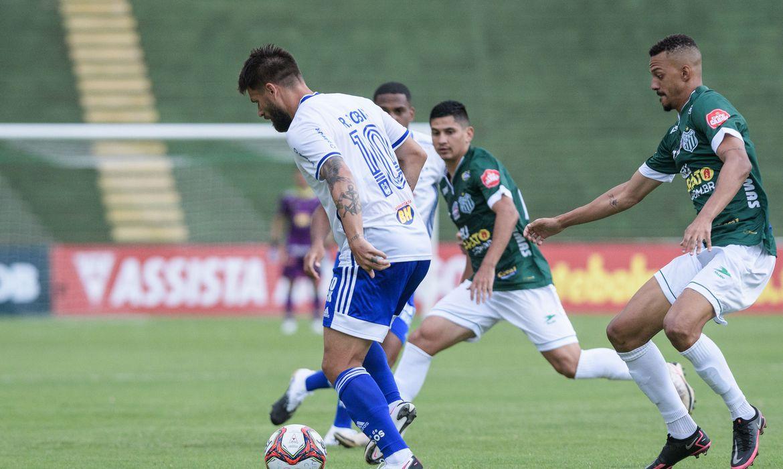 Cruzeiro empata com Uberlândia na abertura do Campeonato Mineiro - Foto: Gustavo Aleixo/Cruzeiro