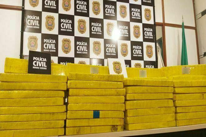 Polícia apreende grande quantidade de drogas em Juiz de Fora - Foto: Divulgação/PCMG