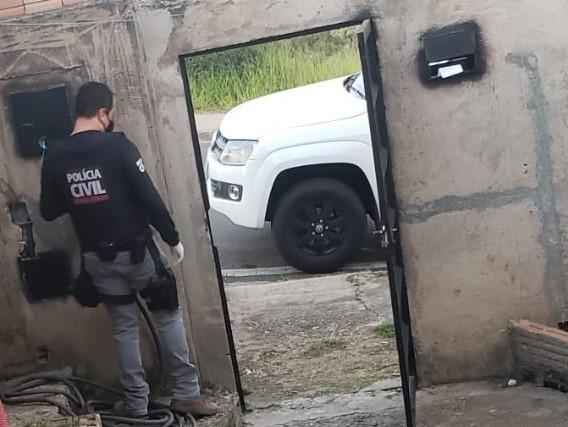 Operação La Santuzza prende suspeito de tráfico em Poços de Caldas - Foto: Divulgação/PCMG
