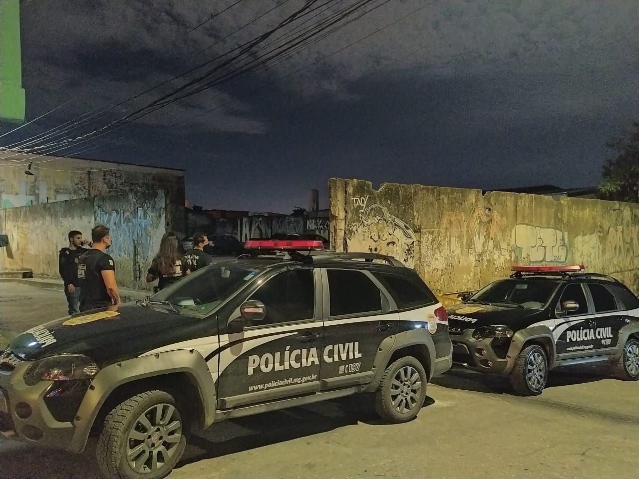 Operação Vigiai mira tráfico de drogas na região Nordeste de Belo Horizonte - Foto: Divulgação/PCMG