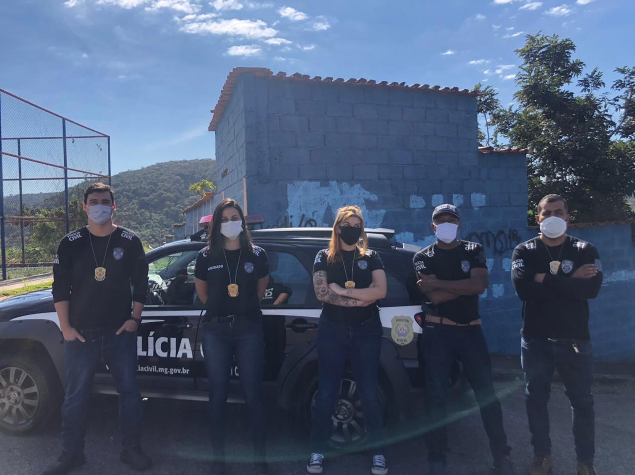 Suspeito agredir brutalmente a companheira é preso em Ibirité - Foto: Divulgação/PCMG