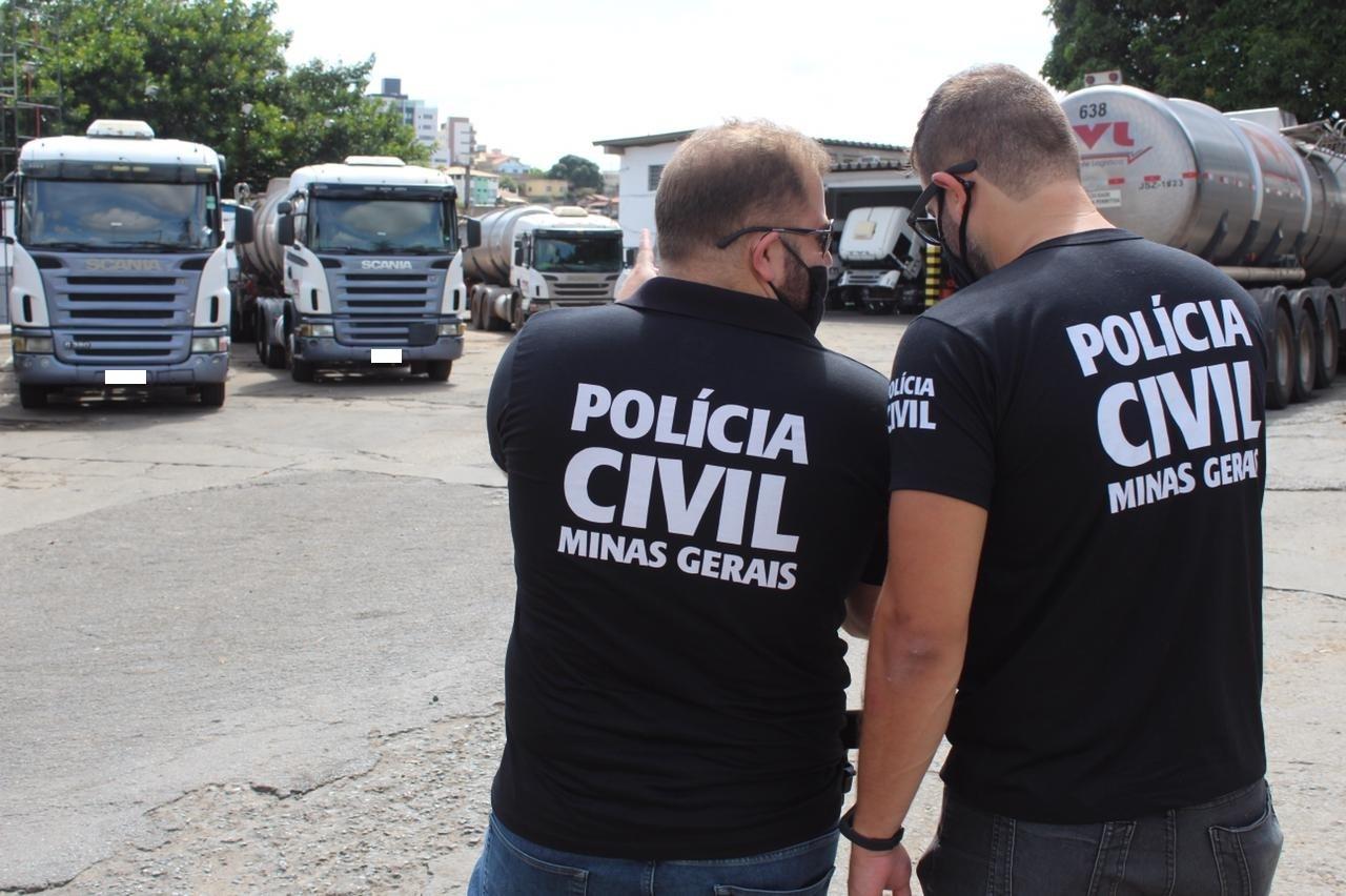 Operação fecha empresa que manipulava químicos perigosos sem alvará em BH - Foto: Divulgação/PCMG