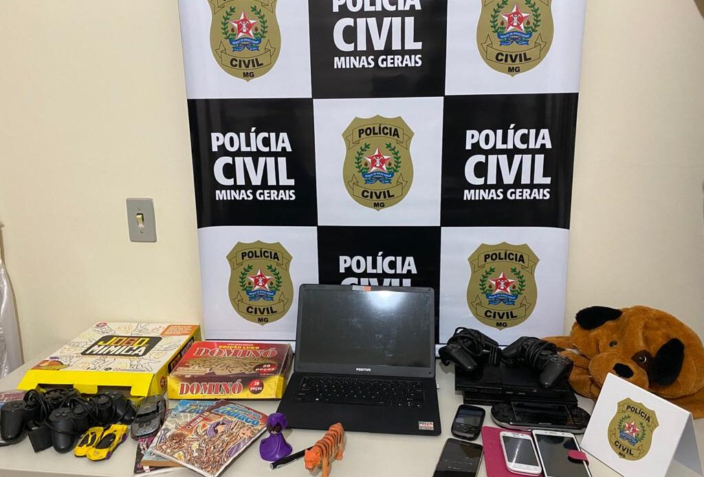 Polícia prende homem que se passava por professor para abusar de jovens em Sete Lagoas - Foto: Divulgação/PCMG