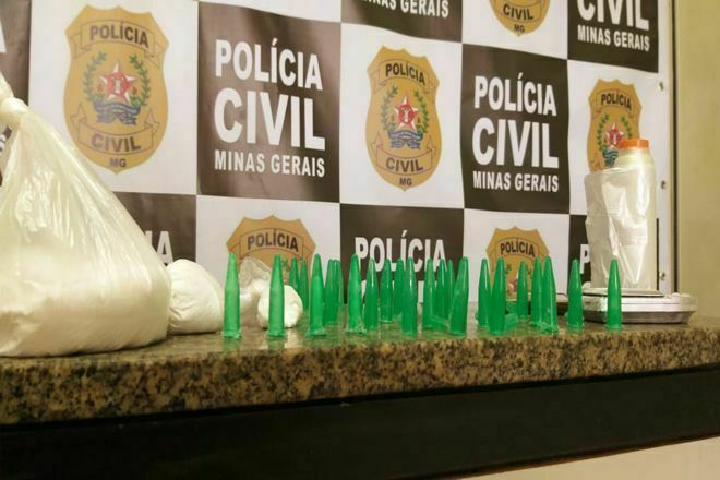 Polícia desmantela esquema de entrega de drogas em Juiz de Fora - Foto: Divulgação/PCMG
