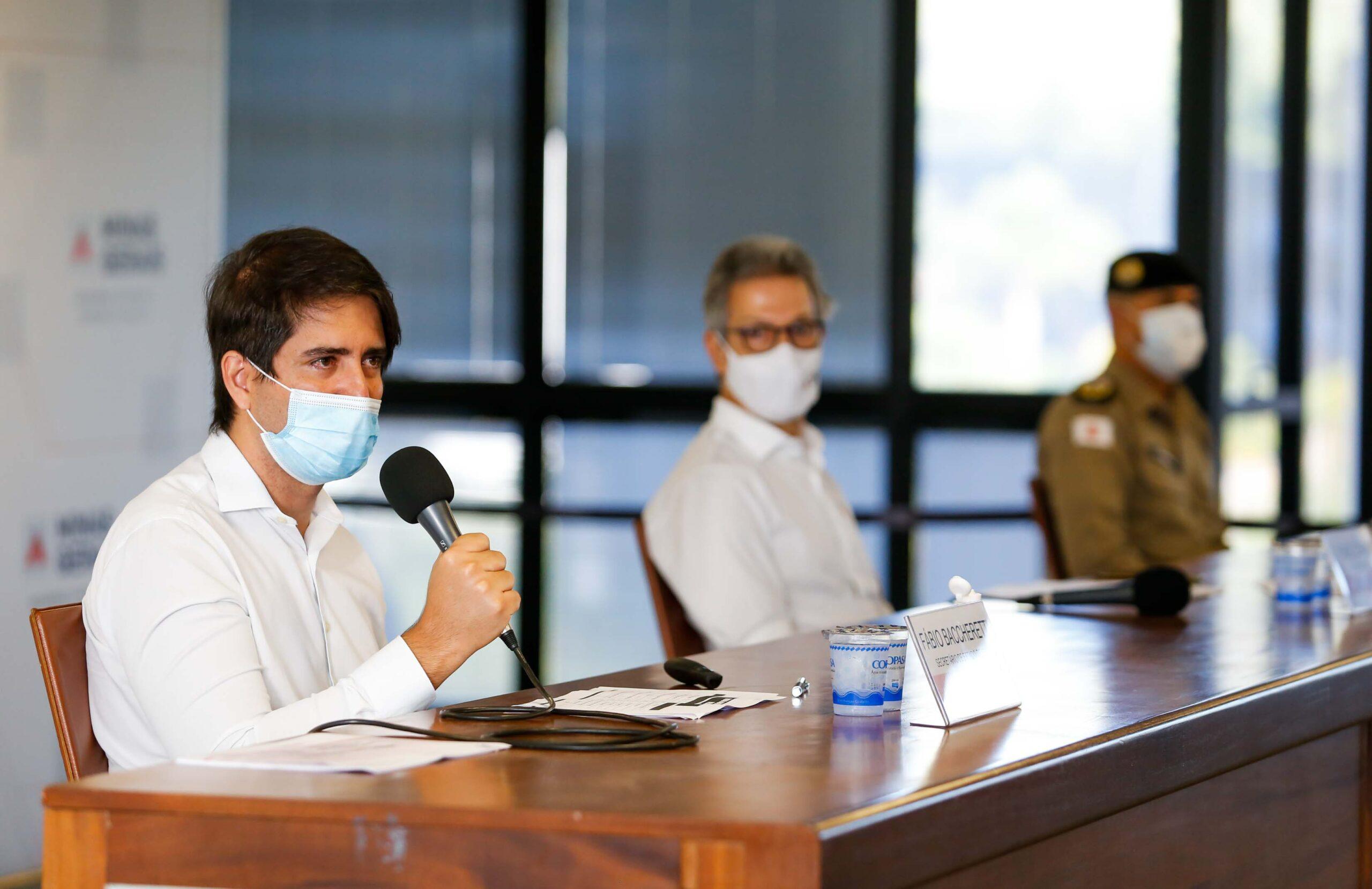Secretário de Estado de Saúde, o médico Fábio Baccheretti - Foto: Gil Leonardi / Imprensa MG