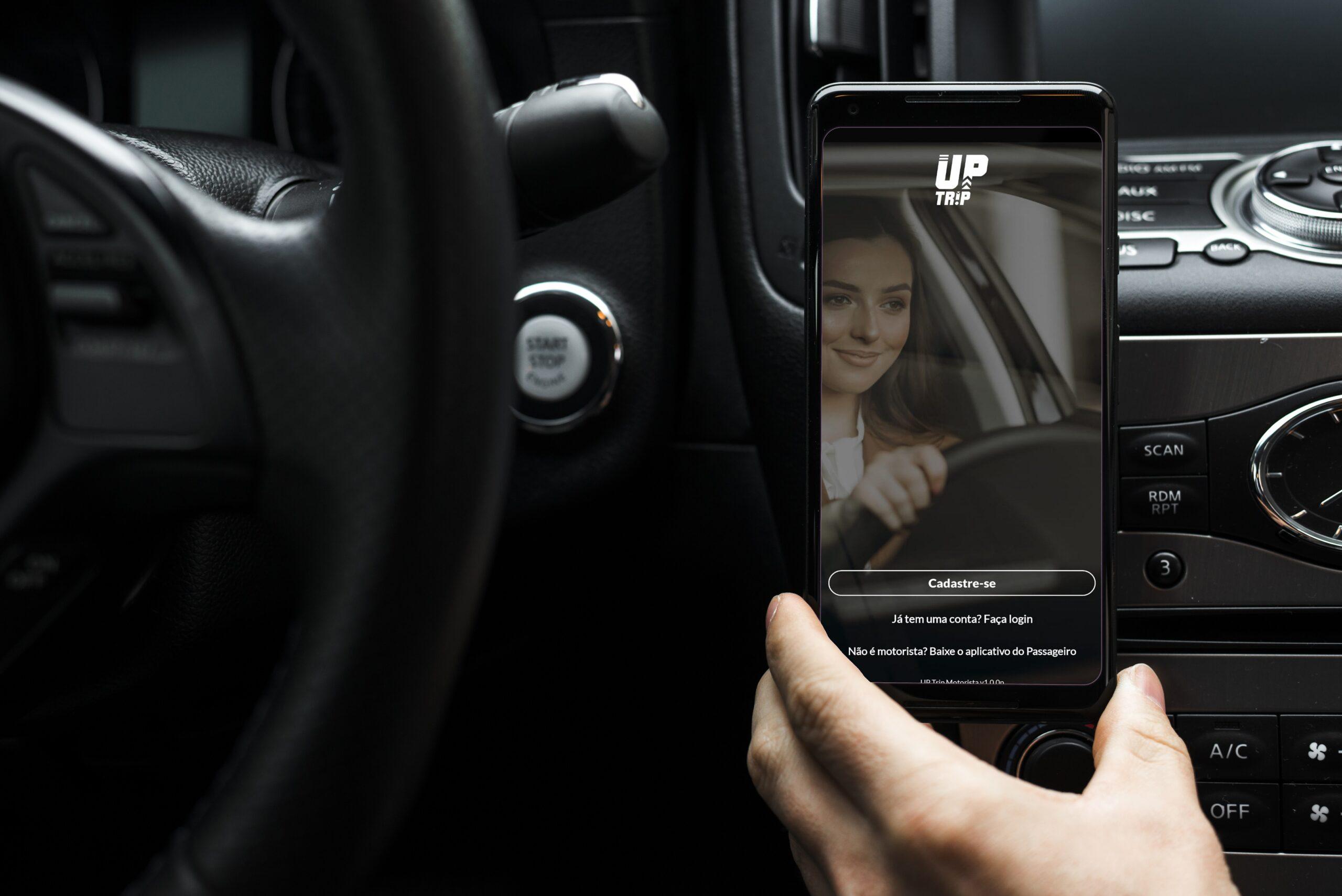 BH vai ganhar novo aplicativo de transporte de passageiro particular a UP TRIP - Foto: Divulgação