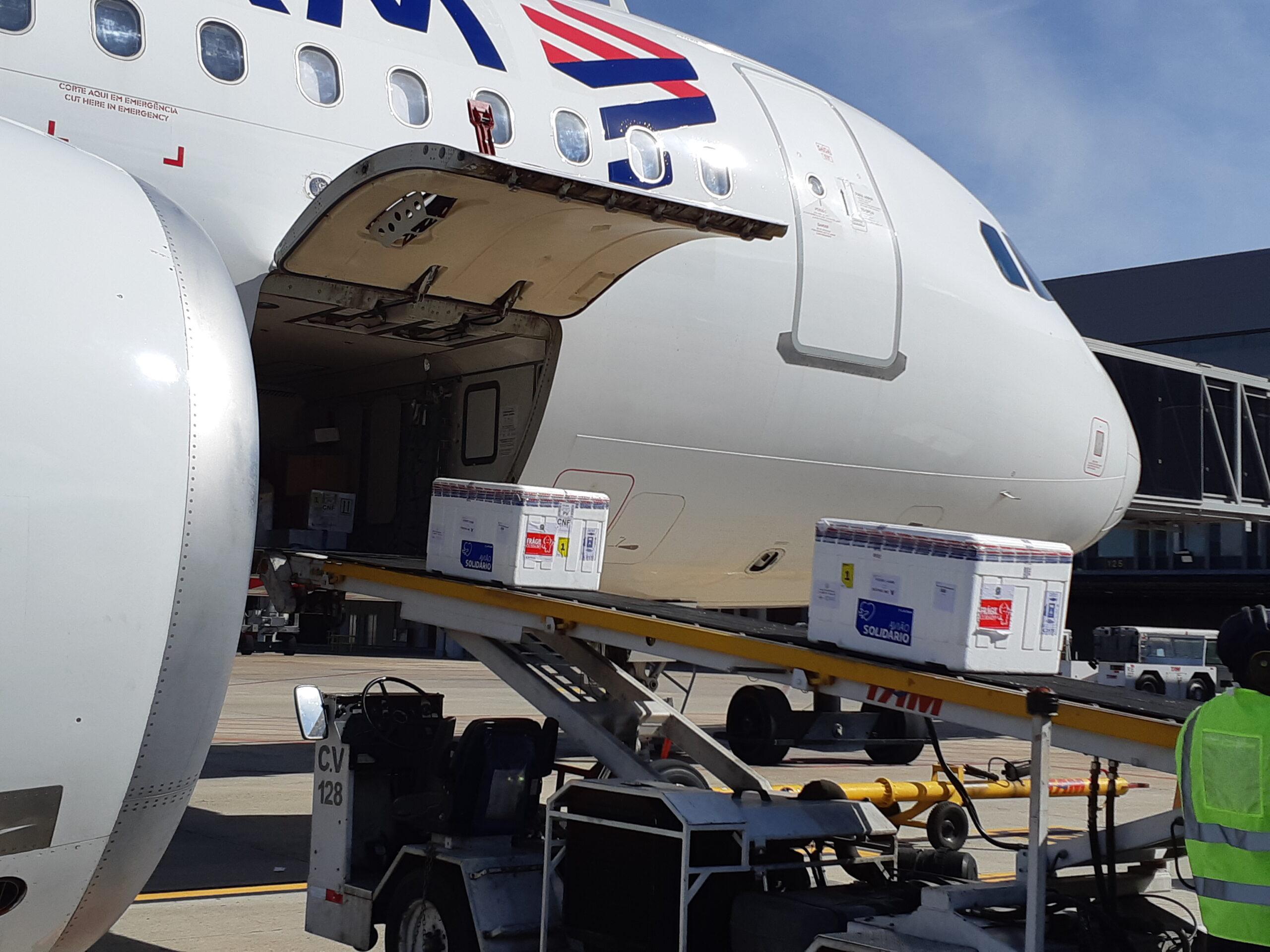 Aeroporto Internacional de BH recebe mais 285 mil doses de vacinas contra a Covid-19 - Foto: Divulgação/BH Airport
