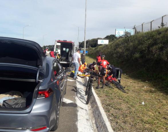 Polícia identifica suspeito de atropelar ciclista em rodovia e fugir em Lagoa Santa - Foto: Divulgação/PCMG