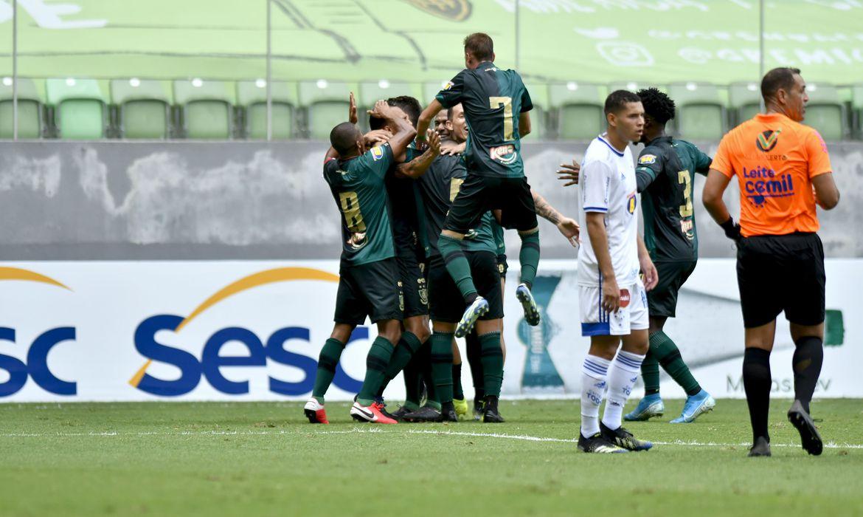 América-MG supera Cruzeiro e assume vice-liderança do Mineiro - Foto: Mourão Panda/América-MG