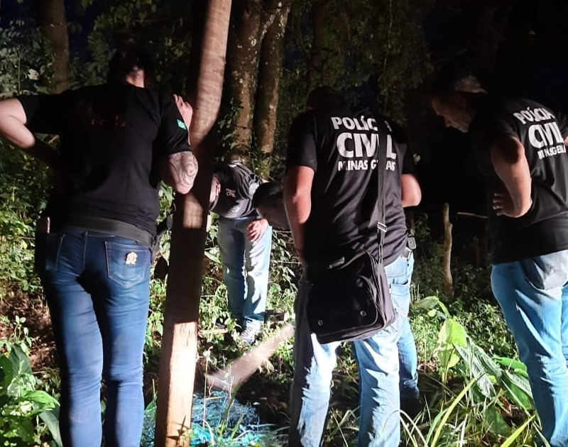 Polícia prende quatro suspeitos de homicídio em Passa Quatro - Foto: Divulgação/PCMG