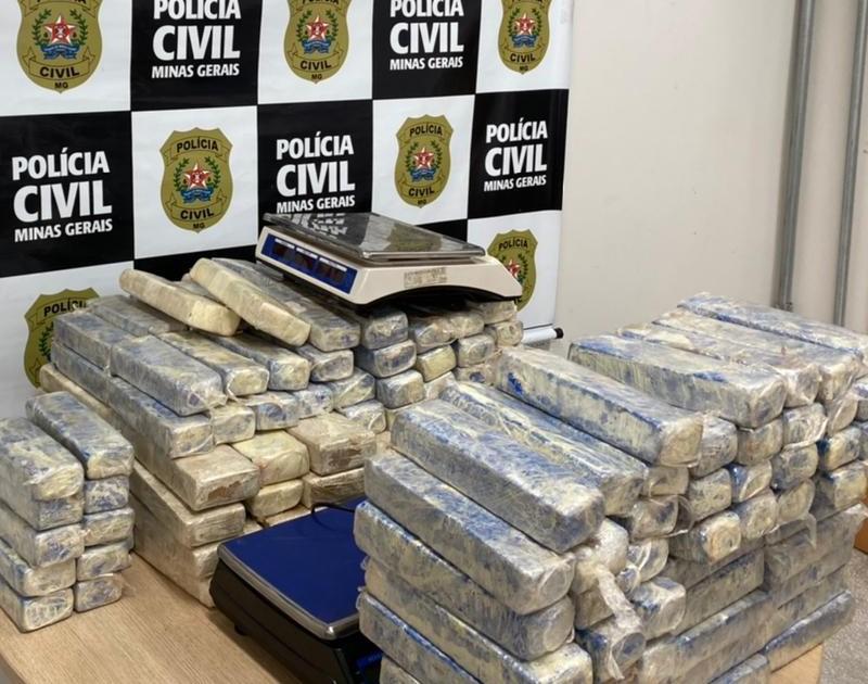 Foragido por crime federal é preso em operação da polícia - Foto: Divulgação/PCMG