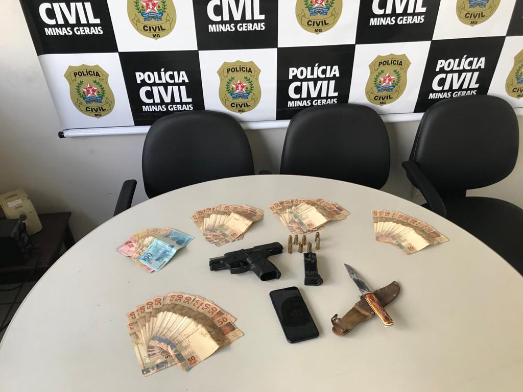 Polícia prende suspeito atirar em vizinhos durante reunião de condomínio em BH - Foto: Divulgação/PCMG
