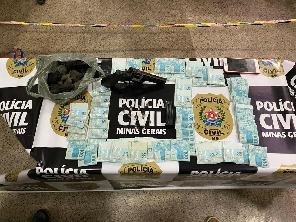 Polícia Civil prende três por furto de carga de carvão mineral em Minas Gerais - Foto: Divulgação/PCMG