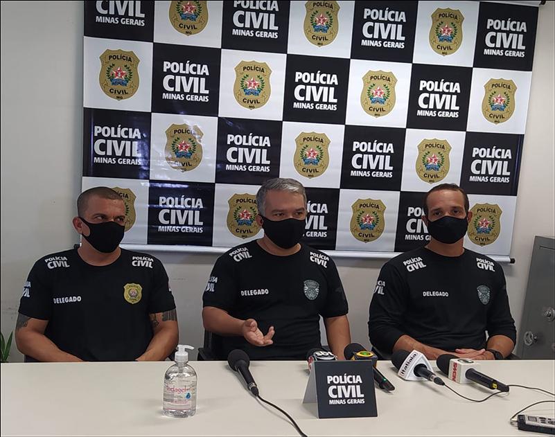 Três pessoas são presas em operação por envolvido em lavagem de dinheiro - Foto: Divulgação/PCMG
