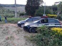 Suspeito por latrocínio é preso em São Domingos do Prata - Foto: Divulgação/PCMG
