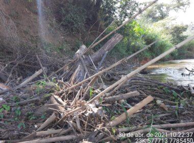 Corpo de criança é encontrados às margens do Rio Paraopeba, na Grande BH - Foto: Divulgação/CBMMG