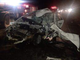 Motorista morre após acidente na BR-356 em Muriaé - Foto: Reprodução/Silvan Alves