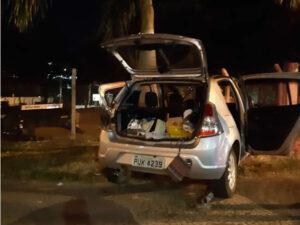 Recém-nascido morre e duas mulheres ficam feridas em acidente entre carro e ônibus em Varginha - Foto: Divulgação/Corpo de Bombeiros