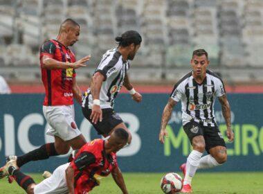 Atlético-MG vence Pouso Alegre e permanece na ponta do Mineiro - Foto: Pedro Souza/Atlético